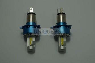 LED Headlight, H4 DC12-24V 40W H8000LM/H8000LM