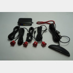 Parktronic system with 4 sensors